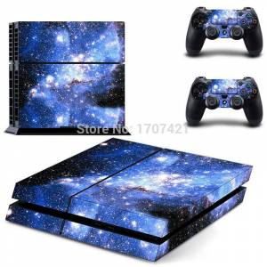 MyXL 1 Set Vinyl PS4 Sticker Voor Sony Playstation 4 Console 2 Controller Sticker Voor PS4 Skin Decal   MyXL - Dptm0162 sticker van de playstation-controll