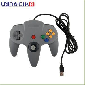 LANBEIKA Wired USB Game Controller Gaming Joypad Joystick USB Gamepad Voor Nintendo Gamecube Voor N64 64 ST Voor Mac Gamepad   LANBEIKA
