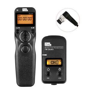 WINOTAR Pixel TW-283/DC0 Draadloze Bluetooth Afstandsbediening Ontspanknop Timer Voor Nikon D800 D800E D700 D500 D300 D300s D4s D4 D5