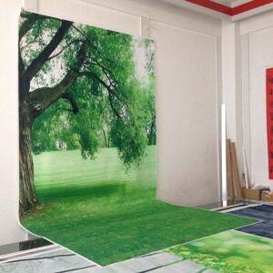 Sprin fotografie achtergronden fotostudio fotografische achtergrond voor kinderenkoop groen gras achtergrond D-662 - 1.85x3m thin vinyl