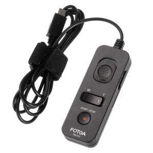 Fotga Universele FOTGA RM-VS1 Afstandsbediening Ontspanknop Timer Voor SONY A7 A7R RX10 ILCE-7 Camera Als RM-VPR1