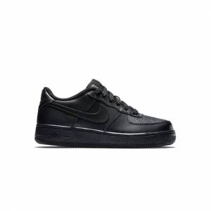 Nike Air Force 1 - Basisschool  - Black - Size: 39