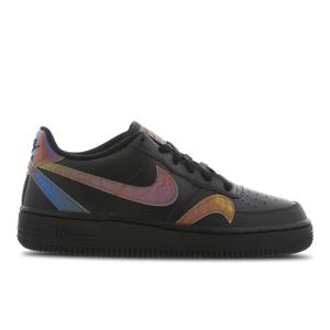 Nike Air Force 1 Lv8 - Basisschool  - Black - Size: 39