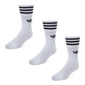 adidas Originals Solid Crew Pack - Unisex  - White - Size: 39-42