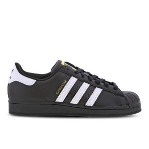 adidas Superstar - Heren  - Black - Size: 45 1/3