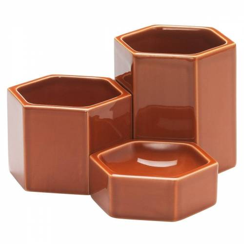 Vitra Hexagonal Containers