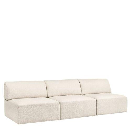 Gubi Wonder Sofa 3-zits Bank Zonder Arm - Karakorum 001