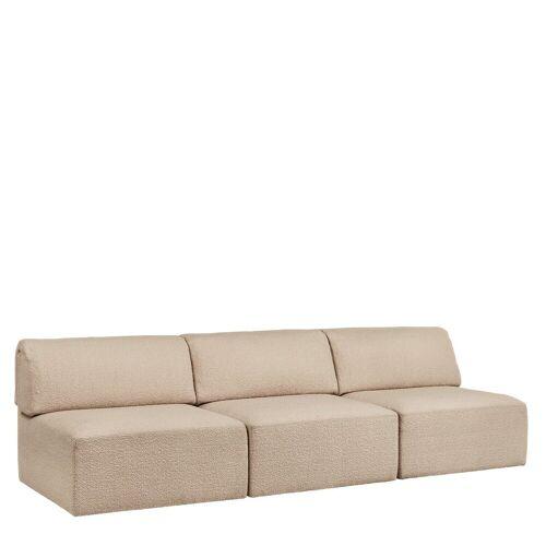 Gubi Wonder Sofa 3-zits Bank Zonder Arm - Karakorum 003
