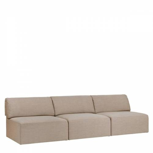 Gubi Wonder Sofa 3-zits Bank Zonder Arm - Canvas 2-0224