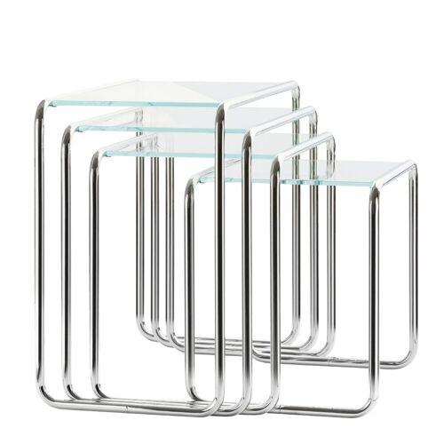 Thonet B9 Set Bijzettafels Glas
