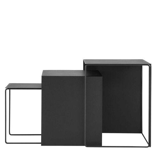 Ferm Living Cluster Tafels - Zwart