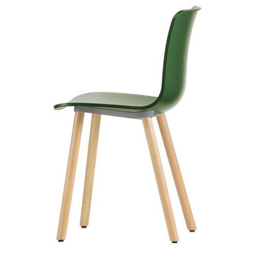 Vitra Hal Wood Chair Stoel Klimop Licht Eiken