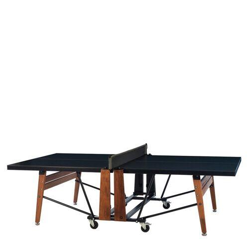 RS Barcelona RS Ping Pong Tafeltennistafel Inklapbaar - Zwart