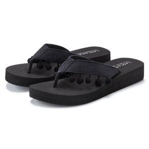 Lascana Schoenen & Accessoires  - zwart - Size: 35;36;37;38;39;40;41;42