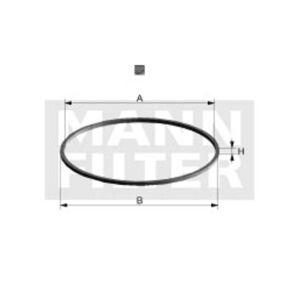 Mann-filter Oliefilter pakking DI 78-09