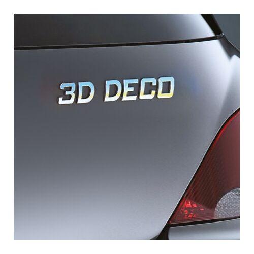 Carpoint 3D deco cijfer '0' 18627