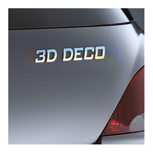 Carpoint 3D deco cijfer '3' 18630