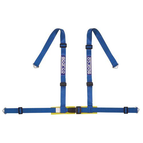 Sparco 4-Pnt Gordel Blauw Bekkenbesch+Schr SP 4604BVA