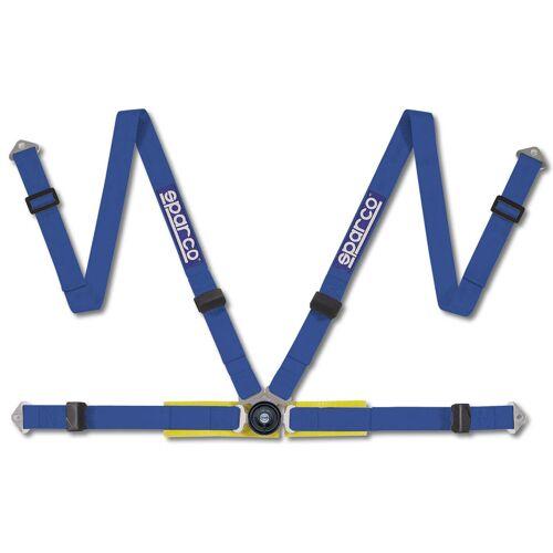Sparco 4-Pnt Gordel Blauw Bekkenbesch+Schr SP 4694BMA