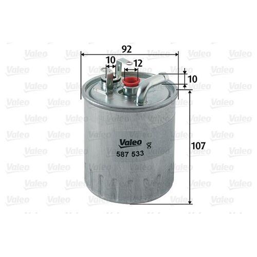 Valeo Dieselfilter Merc Sprint 3-t 587533