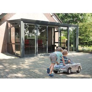 Van Kooten Tuin en Buitenleven Aluminium Tuinkamer Glasdak 600x300 cm