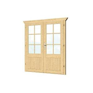 Van Kooten Tuin en Buitenleven Dubbele deur D3 B159xH190 cm 28-45 mm
