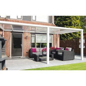Van Kooten Tuin en Buitenleven Sunnyroof veranda 400x300 cm - wit of antraciet - polycarbonaat dak