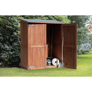 Van Kooten Tuin en Buitenleven Hardhouten tuinkast Montevideo 145x65x185 cm