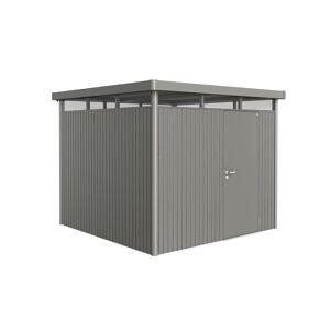 Van Kooten Tuin en Buitenleven Metalen berging Highline H4 275x275x222 cm met dubbele deur