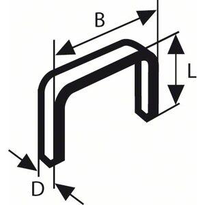 Bosch Accessoires Niet met platte draad type 52 12,3 x 1,25 x 14 mm 1000st