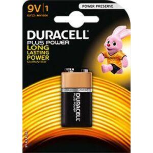 Duracell Plus Power MN1604 9Volt blister 1