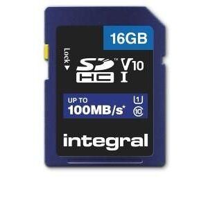 Enzo Integral SD geheugenkaart V10 SDHC 16GB klasse 10