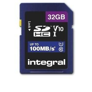 Enzo Integral SD geheugenkaart V10 SDXC 32GB klasse 10