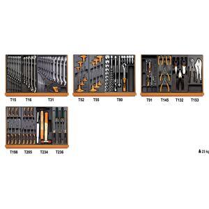 Beta assortiment van 146 gereedschappen 5904 VU/3T