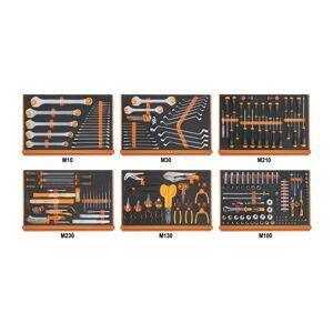 Beta Assortiment van 214 gereedschappen 5988U6/MP