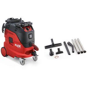 Flex-tools VCE 44 M AC-Kit Veiligheidsstofzuiger met automatische filterreiniging, 42 l, klasse M + Reinigingsset