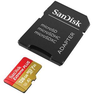 Sandisk MicroSDXC Extreme 100MB/s V30 + SD adapter - 128GB