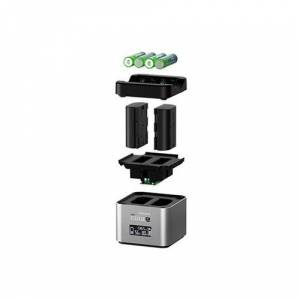 Hahnel ProCube2 Twin Charger voor Canon