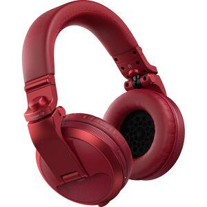 Pioneer HDJ-X5BT DJ koptelefoon met bluetooth rood