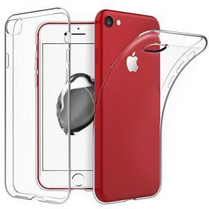 ABRAND iPhone 7 Transparant siliconenhoesje / Siliconen Gel TPU
