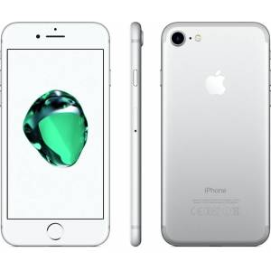 Apple iPhone 7 - 32GB - White Silver - B+ Grade