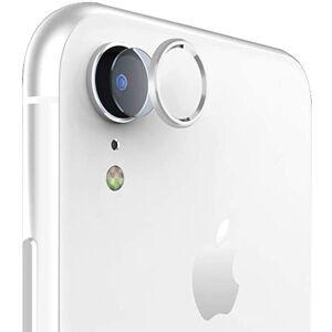 ABRAND iPhone XR Glazen Camera Cover - Zilver