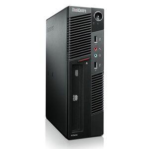 Lenovo ThinkCentre M91 SFF - Core i7-2600 - 8GB - 500GB SSD + 500GB HDD - HDMI