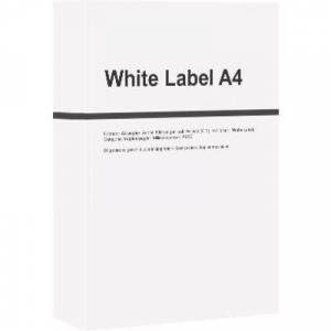 White Label A4 papier 1 pak (500 vel)