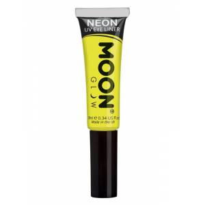 PartyOutfit4You Moon Glow Intense Neon UV Eye Liner Geel  - Size: Not Applicable