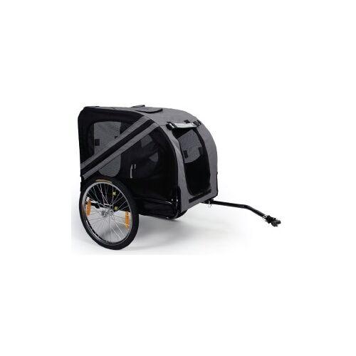 DWXL - Pettrailer 3 Grijs/Zwart 50kg