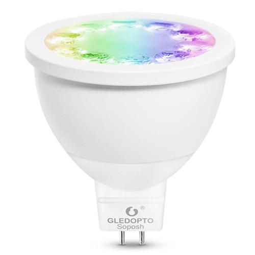 Zigbee LED spot RGBWW 4 Watt MR16 fitting - Hue alternatief