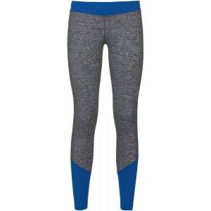 Odlo Maget Warm Tights Dames  - Female - Blauw / Grijs - Grootte: Extra Large