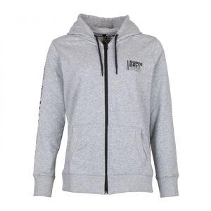 Super Dry Core Sport Ziphood heren sportsweater  - Licht Grijs - Size: 2X-Large