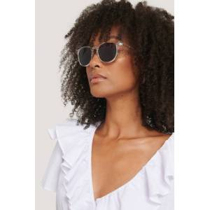 Corlin Eyewear Transparante Zonnebril - White